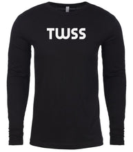 Load image into Gallery viewer, black twss mens long sleeve shirt