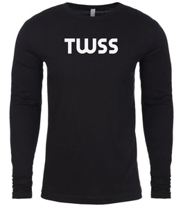 black twss mens long sleeve shirt