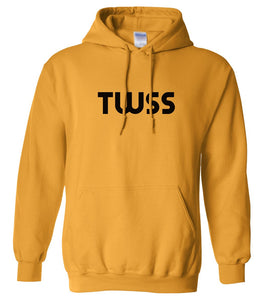 yellow twss mens pullover hoodie