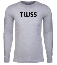 Load image into Gallery viewer, grey twss mens long sleeve shirt