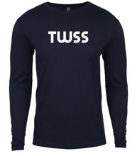 Load image into Gallery viewer, navy twss mens long sleeve shirt