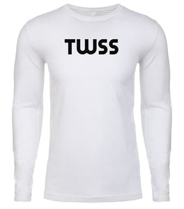 white twss mens long sleeve shirt