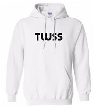 Load image into Gallery viewer, white twss mens pullover hoodie