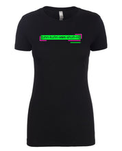 Load image into Gallery viewer, florescent green unconventional neon streetwear t shirt for women