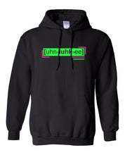 Load image into Gallery viewer, florescent green unlucky neon streetwear hoodie