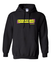 Load image into Gallery viewer, florescent yellow unlucky neon streetwear hoodie