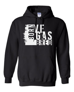 black Vegas born and bred hoodie