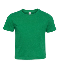 green crewneck t shirt for toddlers
