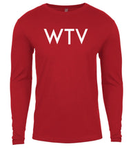 Load image into Gallery viewer, red wtv mens long sleeve shirt