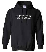 Load image into Gallery viewer, black wywh mens pullover hoodie