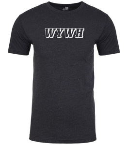 charcoal wywh mens crewneck t shirt