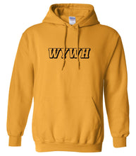 Load image into Gallery viewer, yellow wywh mens pullover hoodie