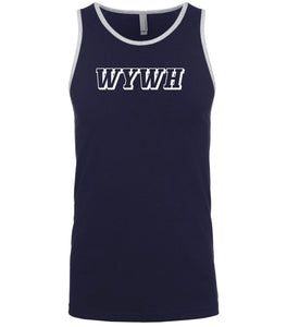 navy wywh mens tank top