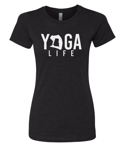 yoga life women's t-shirt