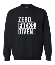 Load image into Gallery viewer, black zero FG sweatshirt