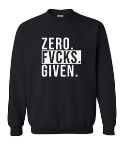 black zero FG sweatshirt