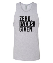 Load image into Gallery viewer, grey zero FG tank top