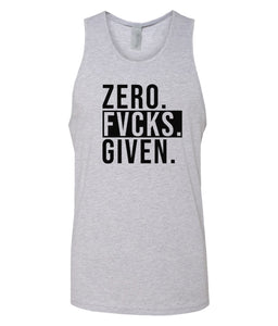 grey zero FG tank top