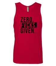Load image into Gallery viewer, red zero FG tank top