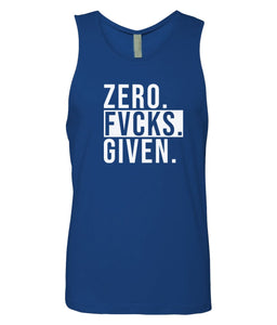royal zero FG tank top