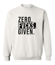 Load image into Gallery viewer, white zero FG sweatshirt