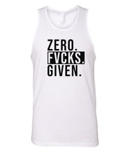 Load image into Gallery viewer, white zero FG tank top