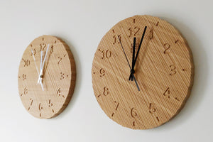 The Grounded Series - Commitment Carved Clock