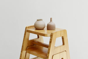 The Grounded Series - Everybody's Favorite Stackable Low Stool