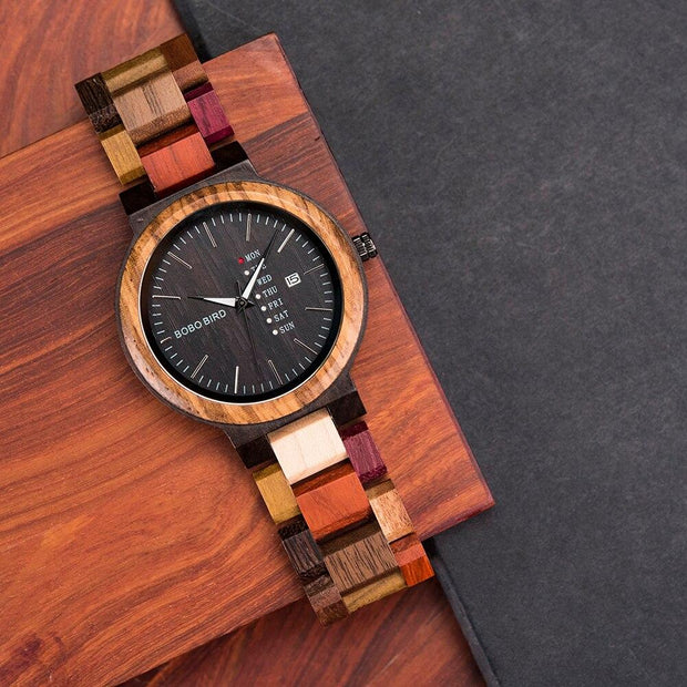 Mens Bamboo Watch - jxnfrd