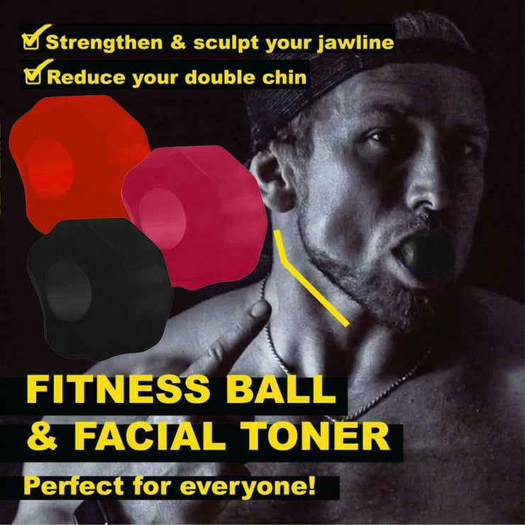 Face Fitness Ball-Train all your Face muscles(35%JAW LINE INCREASE) - jxnfrd