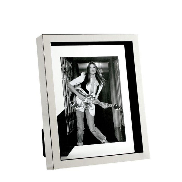 Picture frame mulholland L silver finish