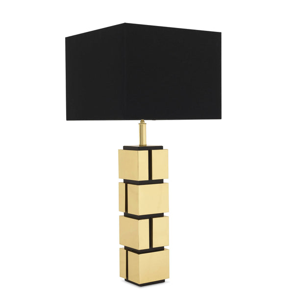 Table lamp reynaud gold incl shade