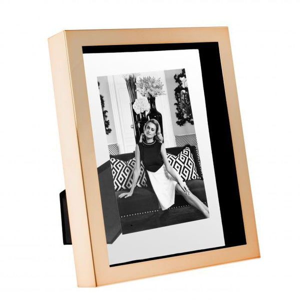 Picture frame mulholland S rose gold finish