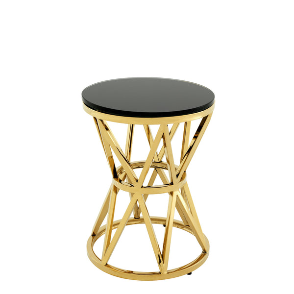 Side table domingo S gold finish