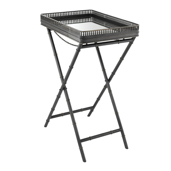 Butler tray isola gunmetal highlight finish