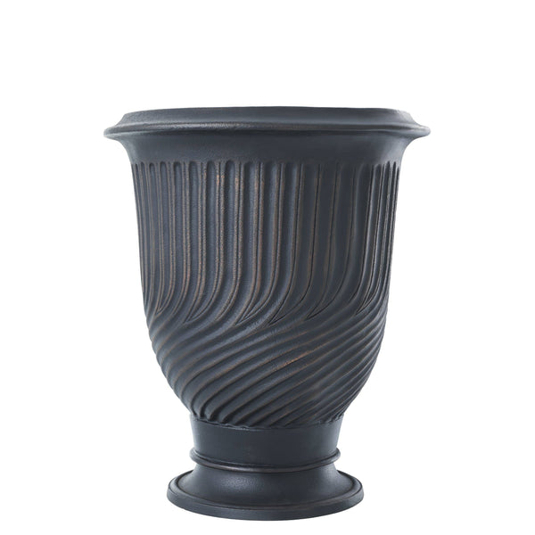 planter chelsea antique bronze finish