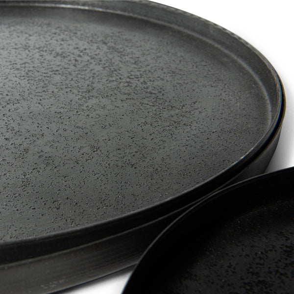Graphite plate sand texture S