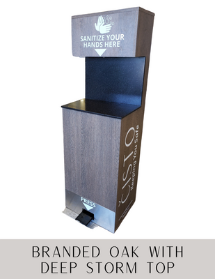 Cisto Classic hand sanitizer station manufactured by PPE supplier, Archmill House Inc.