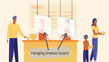 Hanging Sneeze Guard *2 PACK*