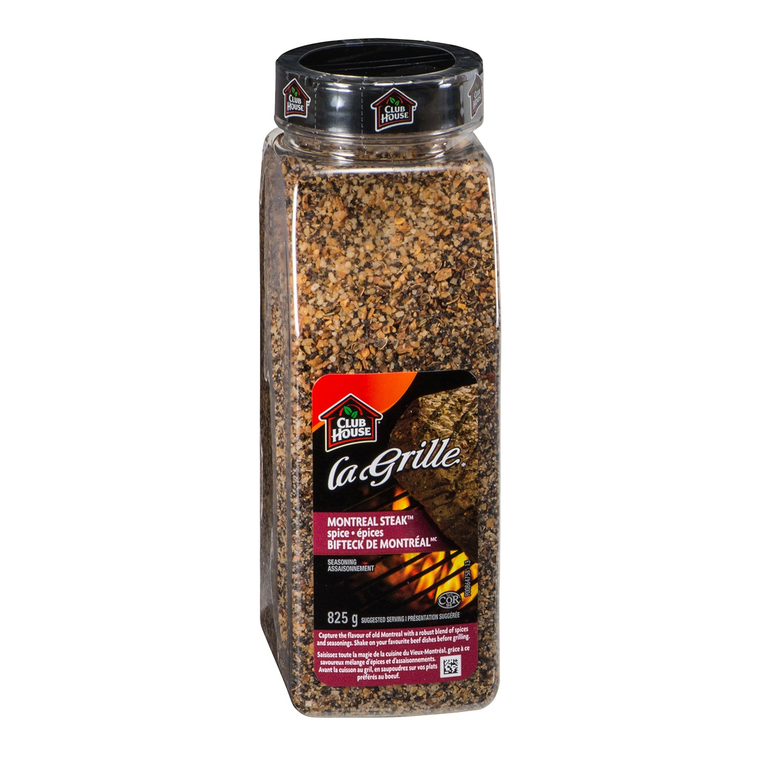 Club House Montreal Steak Spice La Grille 825 g - 1 Pack [$14.49/each]