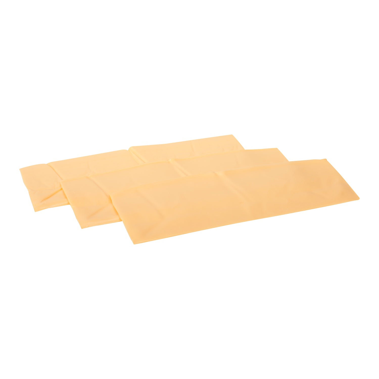 Sysco Block & Barrel Sliced Processed Cheese 2 kg - 2 Pack [$23.50/kg]