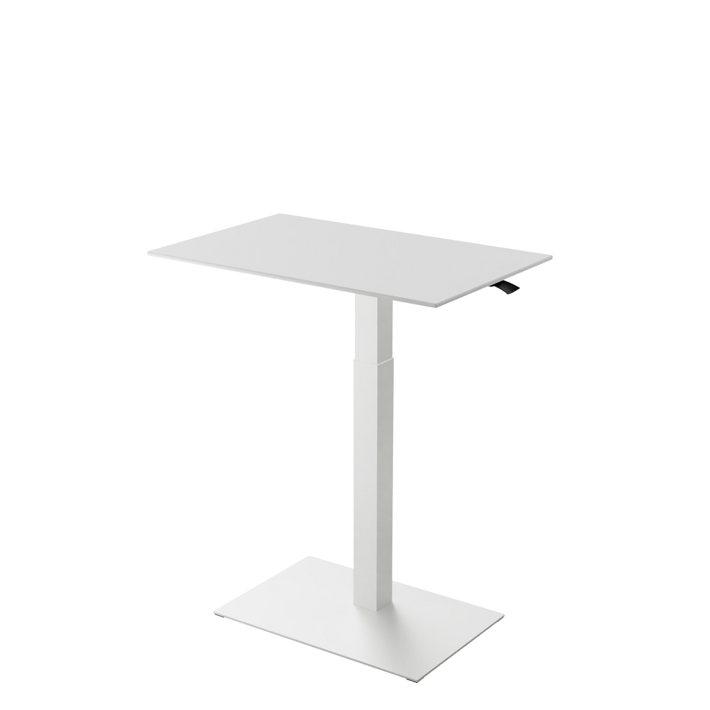 Height adjustable desk Mahtuva L White is good choice for remote workers by Selkastore