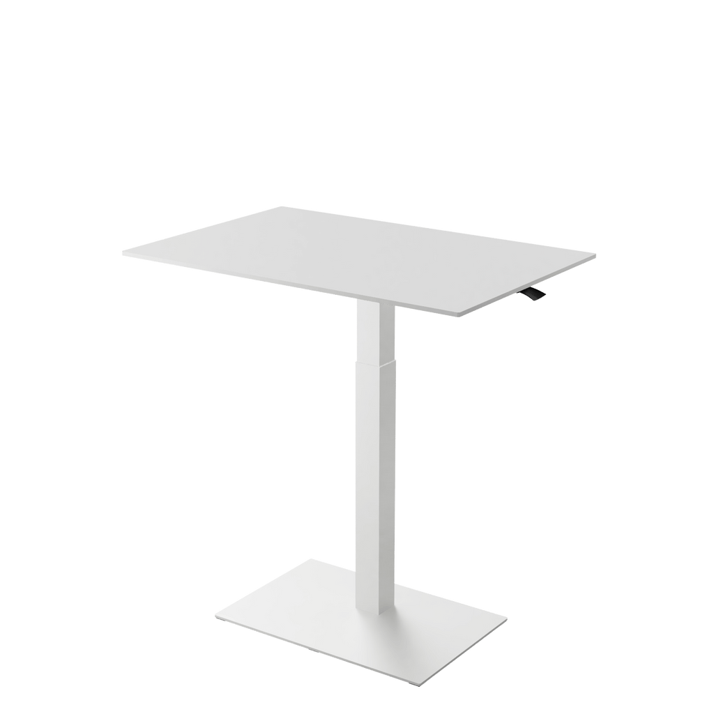 Height adjustable desk Mahtuva XL White is good choice for remote workers by Selkastore