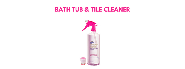 What's In the Bottle? - Bathroom Tub & Tile