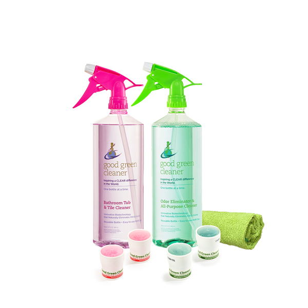 Odor Eliminator & All-Purpose Cleaner + Bathroom Tub & Tile Value Pack