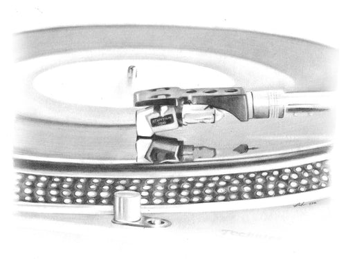 Technics turntable and Stanton stylus 2020