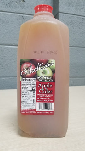 Apple Cider 1/2gal.