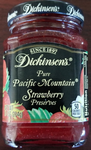 Dickinson's Strawberry Preserves 10oz
