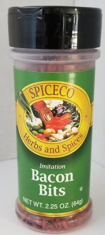 Bacon Bits 2.25oz Spiceco