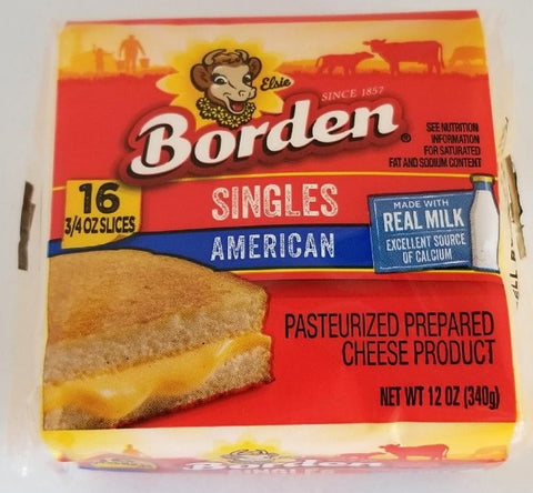 American Cheese Singles 16ct. Borden
